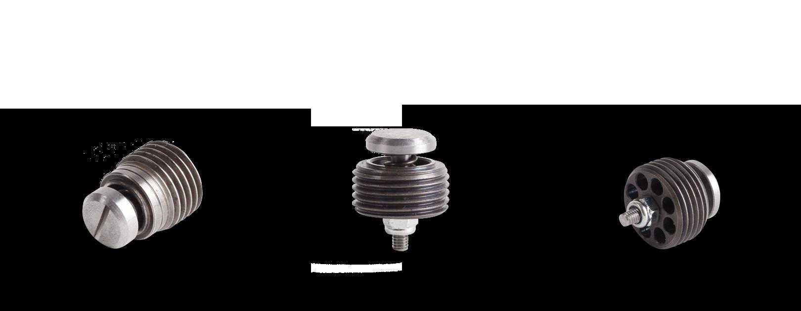 Zur Absicherung von unter Last stehender Verbraucher wie Hydraulikzylinder dient die Rohrbruchsicherung (Einschraub-Strom-Begrenzungsventil)